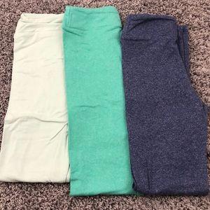 3 kids lularoe leggings
